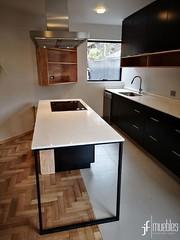 muebles de cocina (jfmuebles) Tags: wwwjfmueblescl fabricademueblesdecocina mueblesamedida mueblesdecasa mueblesdecocina cocina cocinaamericana hbt masisa lamitech silestone