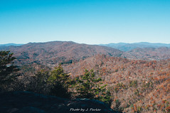 Views from Pinnacle Knob (J. Parker Natural Florida Photographer) Tags: appalachia appalachians bartramtrail blueridge blueridgemountains chattahoocheenationalforest georgia northgeorgia november pinnacleknob tallulahrangerdistrict warwomandell autumn fall forest hike hiking landscape outdoor overlook scenic trail view vista woods
