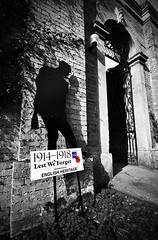 WW1 Silence.. (mickb6265) Tags: ww1 tribute 100aniversary 19141918 19182018 wrestpark ww1hospital soldierfigure poppy lestweforget