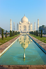 Taj Mahal in the morning (hoboton) Tags: approved