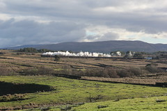 WCR 1Z39 Lancaster to Carlisle 'Santa Special' hauled by Rebuilt MN 8P No. 35018 'British India Line' at Scout Green 9th December 2018 © (steamdriver12) Tags: wcr west coast railways 1z39 lancaster carlisle santa special rebuilt mn 8p no 35018 british india line climbing shap bank 9th december 2018 br merchant navy class mail steam smoke coal oil preservation heritage landscape cumbria england winter sunshine scout green