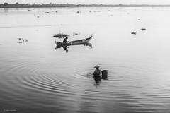 Taung Tha Man Lake (Laszlo Horvath.) Tags: myanmar taung tha man lake nikond7100 nikon50mmf18g burma amarapura nationalgeographic water happyplanet asiafavorites