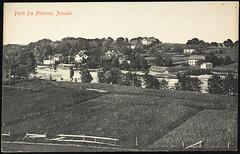 Postkort fra Agder (Avtrykket) Tags: bolighus elv elvebåt ferm hus postkort uthus vassdrag arendal austagder norway nor