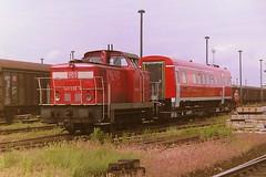 DB 345098-8 (bobbyblack51) Tags: db class 345 dr 105 lew d diesel shunter 3450988 1050988 bw seddin 2001