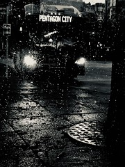 And then there were none (The Big Jiggety) Tags: bus night noir creepy eerie political symbolic rain pluie lluvia regen pioggia