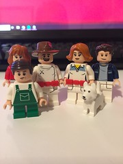 DC's Nuclear Family (Numbuh1Nerd) Tags: lego purist custom dc superheroes minifigures titans outsiders justice league action supervillains villains