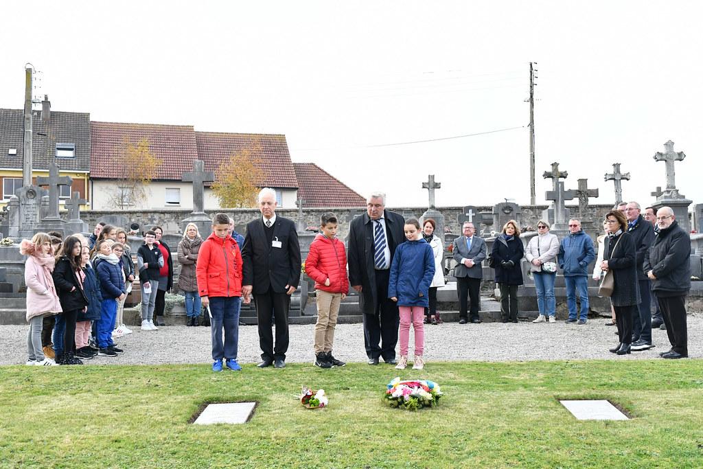 cérémonie dépots de gerbes 14-18 avec les écoles 09.11.2018  (6)