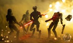 Dathomirian (TX-0666) Tags: darth maul star wars action figures fire toys clone dathomir