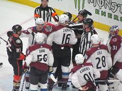 IMG_5138 (Dinur) Tags: hockey icehockey nhl nationalhockeyleague avalanche avs coloradoavalanche ducks anaheimducks