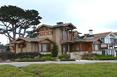 Prairie style in Pacific Grove (afagen) Tags: california pacificgrove montereypeninsula house