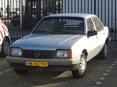 1985 Opel Ascona (harry_nl) Tags: netherlands nederland 2018 amsterdam opel ascona nk92sr sidecode4 ocar