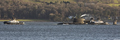 Royal Navy nuclear attack submarine HMS Astute, S119 (SSN); Loch Long, Firth of Clyde, Scotland (Michael Leek Photography) Tags: boat submarine attacksubmarine nuclearsubmarine nuclear ssn hms hmsastute astute specialforces tugs lochlong firthofclyde westcoastofscotland westernscotland scotland scottishcoastline scottishshipping warship britainsarmedforces britainsnavy hmnbclyde hmnb hmsneptune faslane cowal cowalpeninsula coulport sbs rm royalmarines argyllandbute argyll rn royalnavy nato natowarships workingboat workboat serco michaelleek michaelleekphotography navalvessel