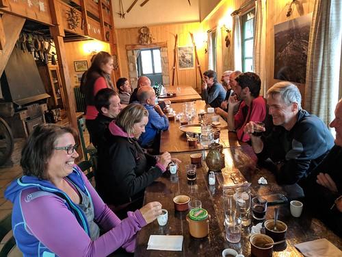 269 - Day 12,  Dinner at Refuge Jeandel 091018