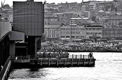Galata Bridge (n.okyayli) Tags: istanbul galatabridge blackandwhite nikond70s bridge monochrome