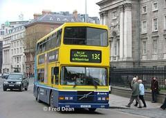 Dublin Bus RV355 (97D355). (Fred Dean Jnr) Tags: dublinbusroute13c rv355 97d355 collegegreendublin april2005 p751swc volvo olympian alexander r shill dublinbus dublin dublinbusyellowbluelivery busathacliath