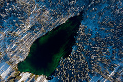 Crestasee Lake in Winter , aerial view - Flims - Switzerland (Palnick) Tags: switzerland lake nature forest crestasee sky water blue outdoor travel flims landscape view color lakecresta swiss alps reflect colorful trinmulin pier white wooden scenery scenic beautiful autumn peaceful europe grisons reflection wood dock graubünden trees reflections alpine summer fall surselva clouds swimming season board woods tourism mountain material falera lagdacresta