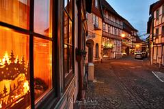 Hornburg/Wolfenbüttel (r.wacknitz) Tags: hornburg wolfenbüttel advent street harz mood citylights contrast nikond3400 aurorahdr
