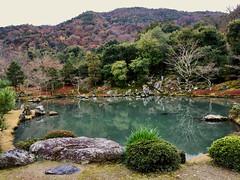shakkei (deziluzija) Tags: autumnleaves borrowedscenery japanesegarden koyo pond tenryūji