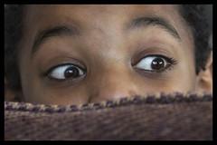 Hide and seek (Frank Fullard) Tags: frankfullard fullard candid game child eyes brown hideandseek hide seek peekaboo children colour color