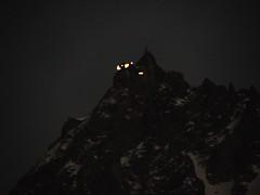 Chamonix 2011 - 2.3 Mts, Aiguille du Midi (6) (mjohns17e) Tags: nature chamonix france mountains night aiguilledumidi lights leshouches