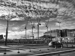 Construction work at the Oosterdok, 24-12-2018 (k.stoof) Tags: construction work bouw oosterdok piet heinkade amsterdam deruijterkade
