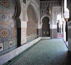 Bou Inania Madrasa in Fès, Morocco, January 2019 D700 480 (tango-) Tags: madrasa fez fes bouinania morocco maroc 摩洛哥 marruecos марокко المغرب