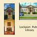 Lockport New York -Main Public Library - Historic