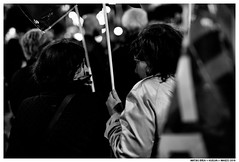 ,, (Matías Brëa) Tags: calle street manifestación manifestation noche nocturna gente social documentalismo documentary personas people blanco y negro black white bnw mono monochrome monocromo