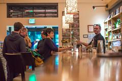 Down a Bar (Thomas Hawk) Tags: california citywinery napa napacounty napavalley scobles50th bar fav10