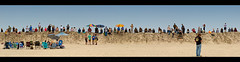 Spectator Dune (Whitney Lake) Tags: 22 explore panorama pano summer vintage retro dragrace dune sand beach atlantic eastcoast southjersey jerseyshore newjersey wildwoods 2018 theraceofgentlemen trog