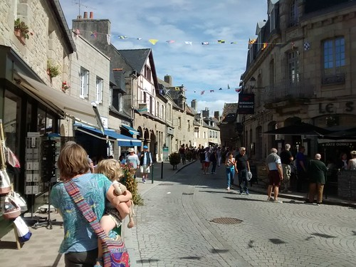 The old streets of Roscoff