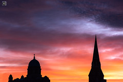 You better believe it. (alundisleyimages@gmail.com) Tags: sunset churches religion weather newbrighton wirral clouds england sillhouettes colours worship shrines buildings architecture