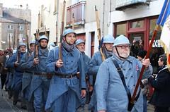 poilus en18 (hdsulpice) Tags: 1418 poilus saintsulpice centenaire armistice fusil celebration streetphotography