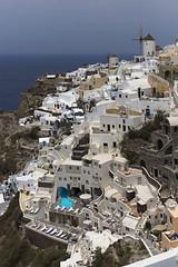 "Белый ручей Ия. White ""creek"" Oia, Thira (Santorini) (atardecer2018) Tags: greece santorini city 2016 architecture arquitectura санторини греция архитектура"