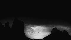 Tenerife (Roberto Steinert) Tags: tenerife canarias canaryislands spain landscape paisaje hdr outdoor outside nature naturaleza cielo sky playa benijo beach sunset atardecer puesta sol sun horadorada golden hour effect blancoynegro blackandwhite bw persona person moody mar sea ocean atlántico atlantic