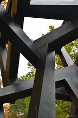 Chaos Meteroro (2015) (Bri_J) Tags: chatsworthhousegardens bakewell derbyshire uk chatsworthhouse gardens chatsworth statelyhome nikon d7500 chaosmeteroro sculpture black jeddnovatt