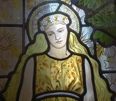 [69062] Birmingham : BM&AG - Four Seasons (Budby) Tags: birmingham westmidlands artgallery museum stainedglass window preraphaelite