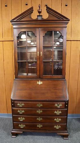 2 piece Statton bookcase secretary ($532)