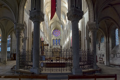 La Collégiale - NKV pano  XT1 90-91-92 (mich53 - thank you for your comments and 6M view) Tags: manteslajolie xt1 frankreich france rosace vitrail église church fujifilm architecture panoramique cc îledefrance
