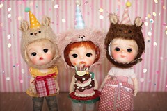 Happy Birthday mommy!! (Petitedoll) Tags: birthday ming mong doll bjd secretdoll