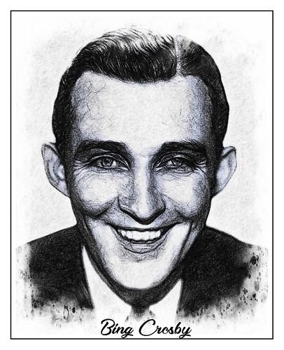 Bing Crosby fan photo