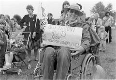 Out & About demo (hoffman) Tags: horizontal transport wheelchair disability handicap british health infirmity uk unitedkingdom affliction disabled disablement disadvantage handicapped impairment impediment incapacitated incapacity davidhoffman wwwhoffmanphotoscom london