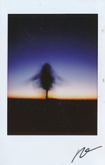 "Fujitivas_90 ""Stages"" (Robert Olaf) Tags: fujifilm fujitivas papel paper polaroid stages film analogue lamancha sunset sunsets dance dancing moon blue yellow purple fujitiva fujifilminstax fujiinstax90 color instafuji instaphoto instacamera instagram robertolaf she love lomo lomography"