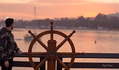8Z0A7975-4 (Wajih Daab Photography) Tags: sunset santa barbara california beach ocean captin wheel
