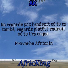 #ProverbeAfricain #Afrique #proverbe (PEMN.AfricKing) Tags: instagramapp square squareformat iphoneography uploaded:by=instagram