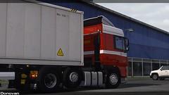 (Sergey Donovan) Tags: daf xf105 truck trailer eurotrucksimulator2