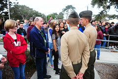 Pacific Grove Middle School Veterans Day Ceremony 2018 (Presidio of Monterey: DLIFLC & USAG) Tags: stevenshepard pom presidio military army monterey california imcom pacificgrove middleschool school student pgms veterans veteransday ceremony dli dliflc defenselanguageinstitute community soldier