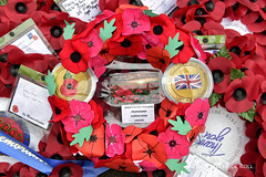 Wreath: Drumconnor Nursing Home, Lancing (© Freddie) Tags: london westminster sw1 cityofwestminster whitehall cenotaph wreath poppy remembrance fjroll ©freddie 19182018