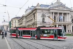 BRN_1819_201811 (Tram Photos) Tags: brno brünn strasenbahn tram tramway tramvaj tramwaj mhd šalina dopravnípodnikměstabrna dpmb škoda 03t skoda anitra astra
