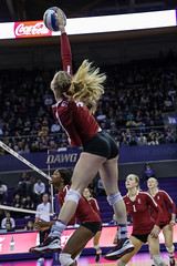 Stanford Washington-FT4I5763 (Pacific Northwest Volleyball Photography) Tags: volleyball ncaa stanford washington uwhuskies pac12 pac12vb